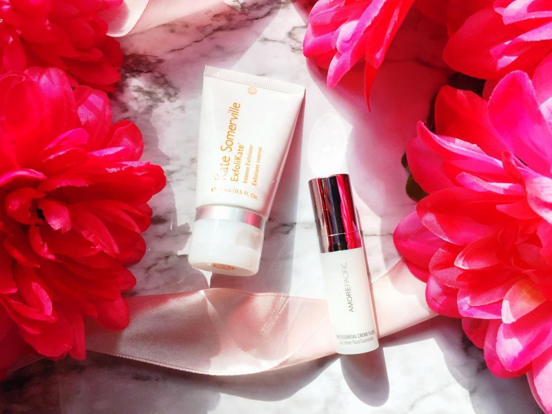 Kate Somerville ExfoliKate Intense Exfoliator + AmorePacific The Essential Crème Fluid