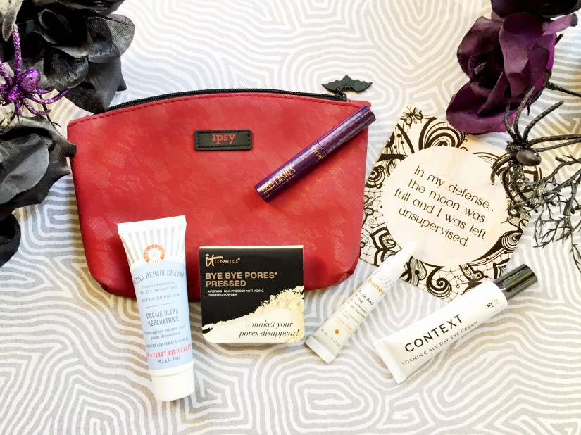 Ipsy October 2017 Glam Bag