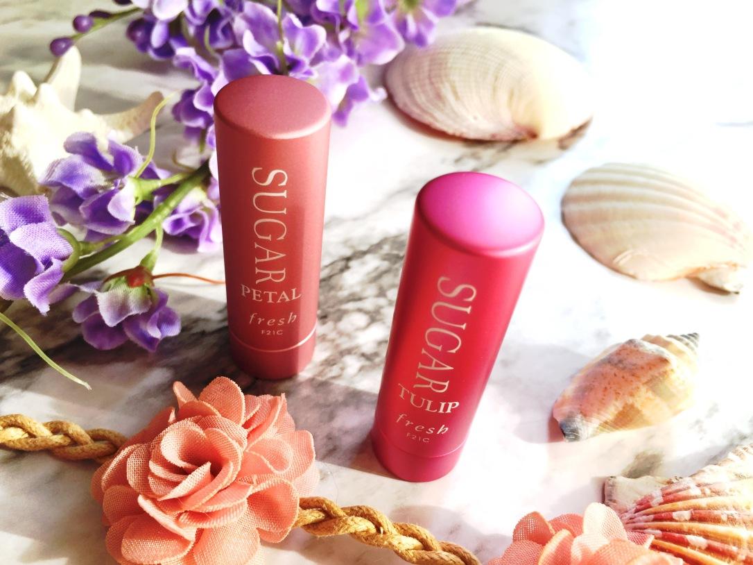 Fresh Sugar Lip Treatment in Petal and Tulip