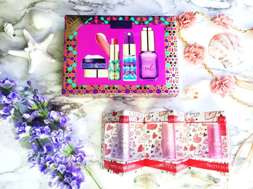 Tarte Skin Win Hydrating Skincare Set + Fresh Pretty in Pink Lip Gift