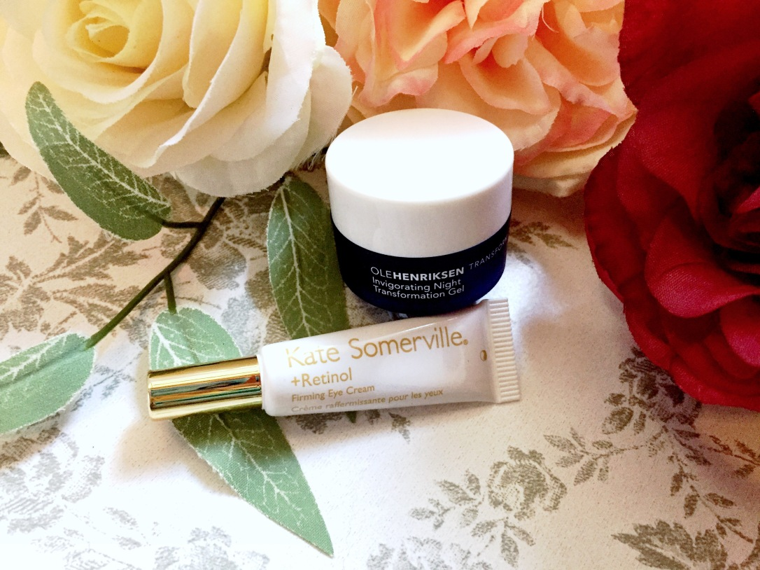 Kate Somerville + Retinol Firming Eye Cream + Ole Henriksen Invigorating Night Transformation Gel