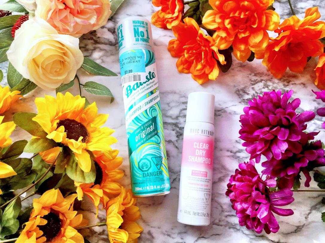 Batiste Dry Shampoo + Marc Anthony Clear Dry Shampoo