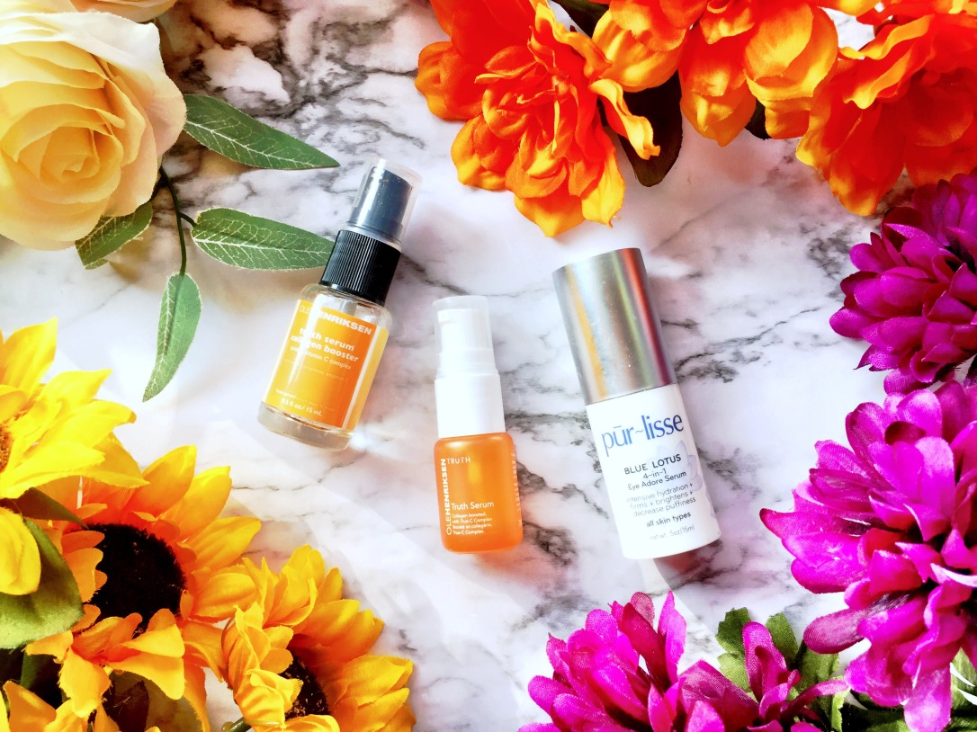 Ole Henriksen Truth Serum Collagen Booster + Pur-lisse Blue Lotus 4-in-1 Eye Adore Serum