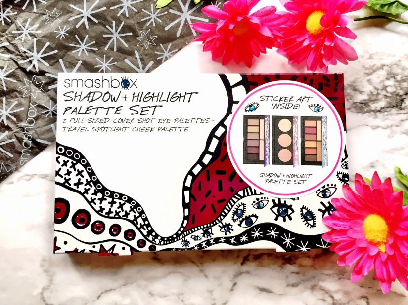 Smashbox Drawn In. Decked Out. Shadow + Highlight Palette Set