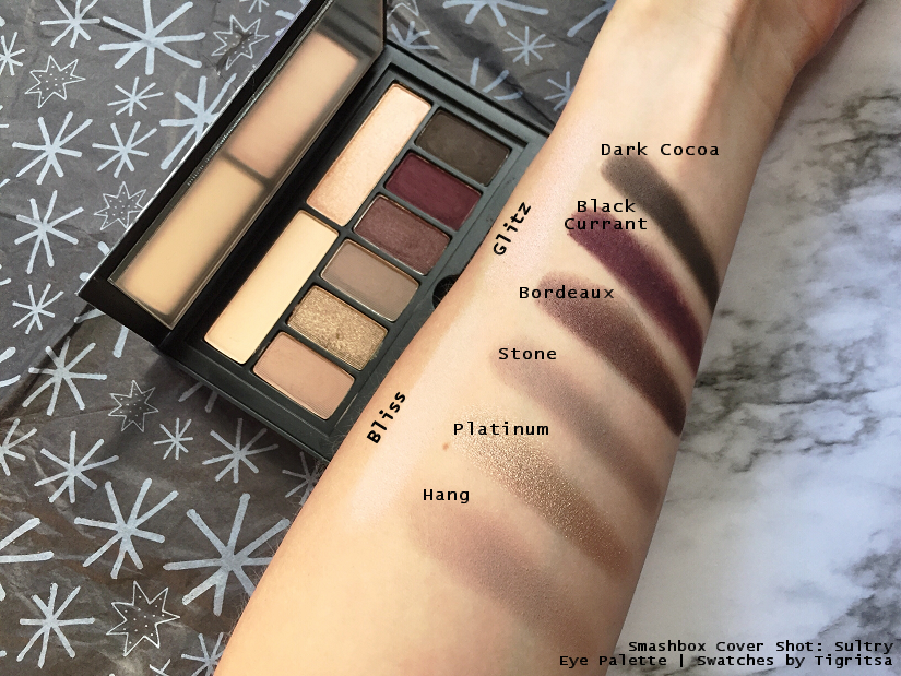 Smashbox Cover Shot: Eye Palette in Sultry + Swatches