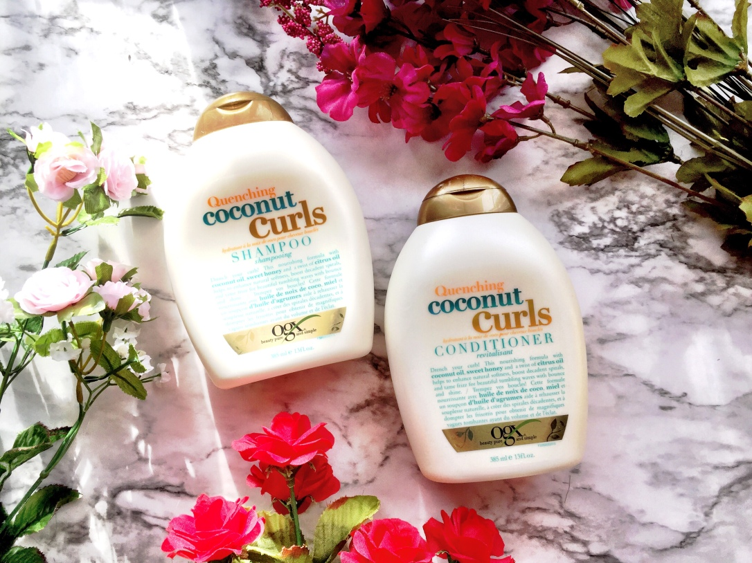 OGX Quenching Coconut Curls Shampoo & Conditioner